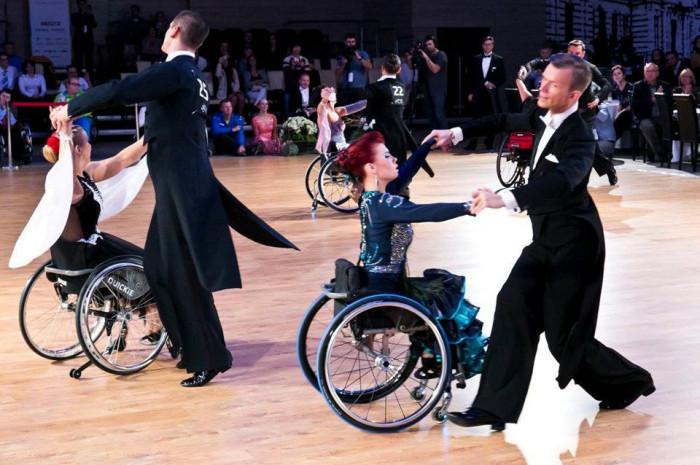 Tanečnica na kolesách