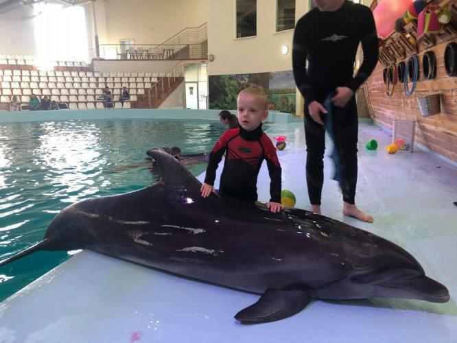 Delfinoterapia pre Tobiaska