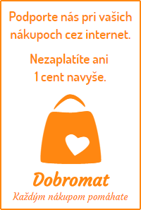 DOBROMAT  - pomôžte nám svojimi internetovými nákupmi