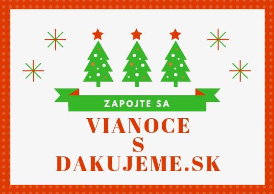 Vianoce s dakujeme.sk