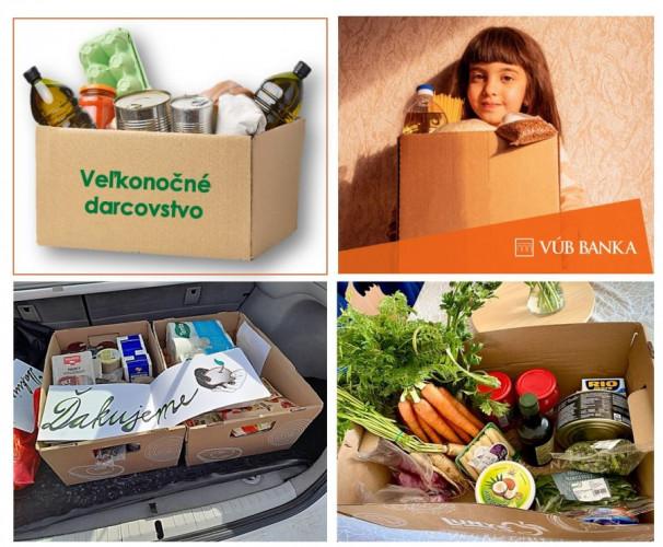VÚB - Veľkonočná nádej - Potravinová pomoc
