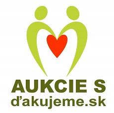 Aukcie s dakujeme.sk